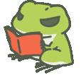 読書かえる